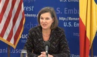 Victoria NULAND, asistentul secretarului de stat american pentru afaceri europene și eurasiatice