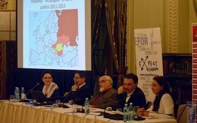 CONFERINȚĂ EFOR. România, între UE şi Eurasia