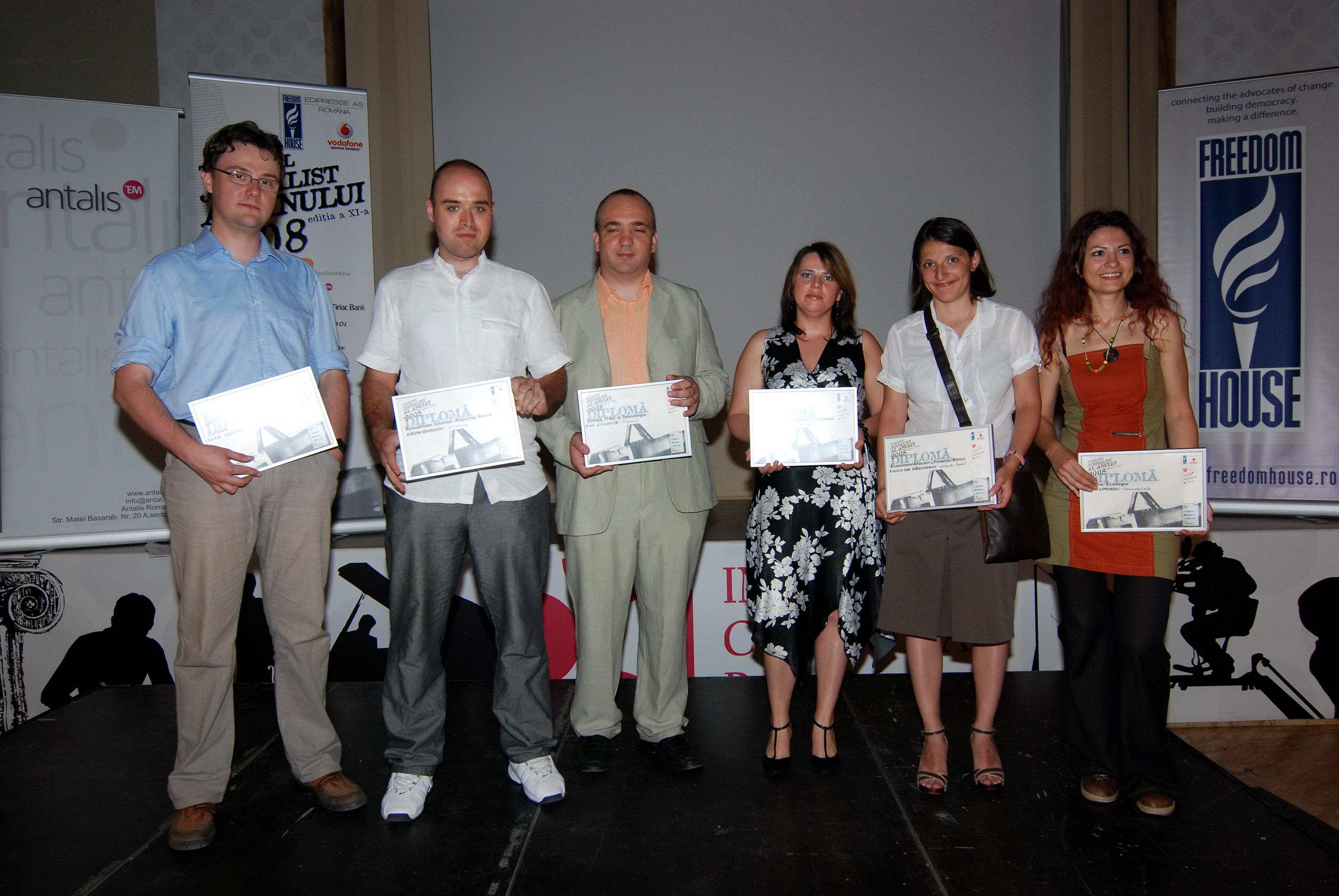 Câstigătorii TJA 2008