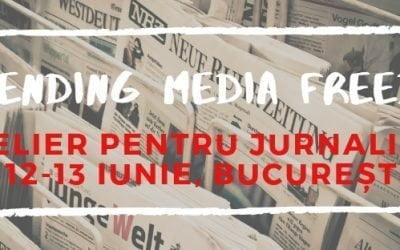 """Atelier pentru Jurnaliști, 12 – 13 iunie 2019, parte din proiectul """"Defending Media Freedom"""""""
