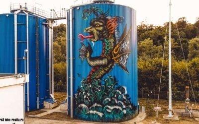 Traseu turistic de artă stradală în Reșița