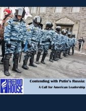 Contending with Putin's Russia. A Call for American Leadership