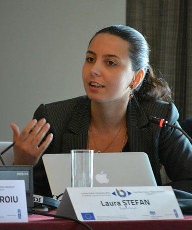 Laura ȘTEFAN - Expert anticorupție, Expert Forum