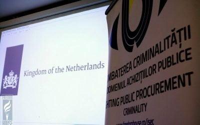 Ambasada OLANDEI susține participarea magistraților din Republica Moldova în proiectul de combatere a fraudei în achiziții
