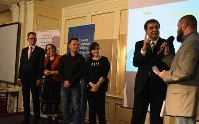 TJA 2015 – cinci Mari Premii pentru cei mai buni tineri ziariști