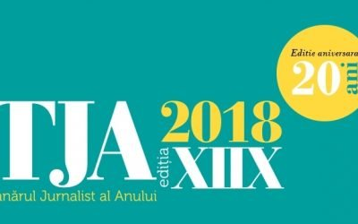Tânărul Jurnalist al Anului, ediție aniversară: 20 ani de TJA