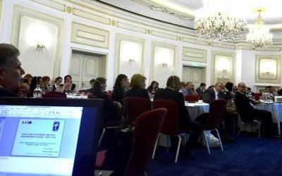 """Conferințele """"Litigii pe Fonduri Europene"""" – înscrieri pentru cele trei conferințe Freedom House România – OLAF"""