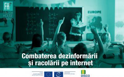 """Freedom House România anunță deschiderea înscrierilor pentru proiectul """"Combaterea dezinformării și racolării pe internet"""""""