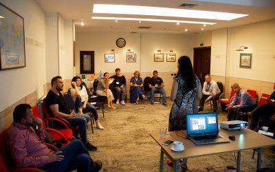 """Seminar """"Schimb de bune practici pentru consolidarea relației dintre activiști civici și jurnaliști"""""""